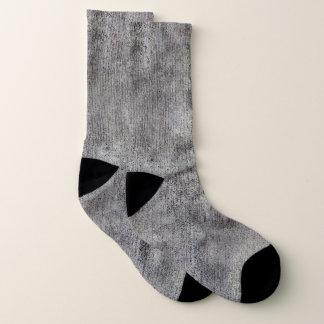 De doorstane Grijze Stoep van het Cement Sokken