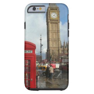 De doos & Big Ben van de Telefoon van Londen Tough iPhone 6 Hoesje
