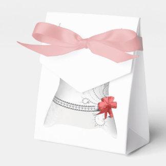 De doos van de bruid bedankdoosje