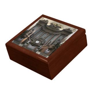 De doos van de de pijpengift van het orgaan - St Decoratiedoosje