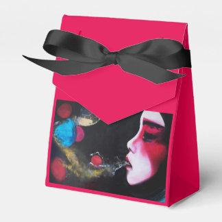"""De doos van de gift """"borrelt"""" tent bedankdoosjes"""