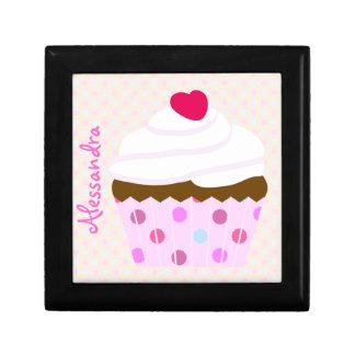 De Doos van de Gift van Cupcake van de Room van de Decoratiedoosje