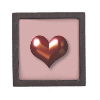 De Doos van de Gift van de Premie van het Hart van Premium Juwelen Doosjes