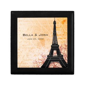 De Doos van de Gift van de Toren van Eiffel Decoratiedoosje