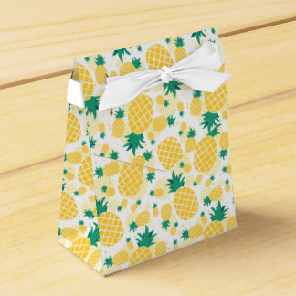 De Doos van de Gunst van de Tent van de ananas Bedankdoosjes