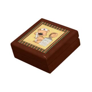 De doos van de Juwelen van de Verpleegster van de  Decoratiedoosje