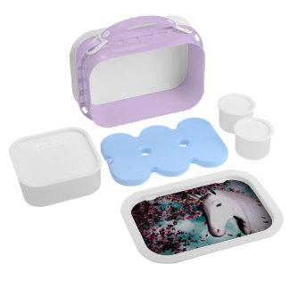 De doos van de Lunch van de eenhoorn Lunchbox