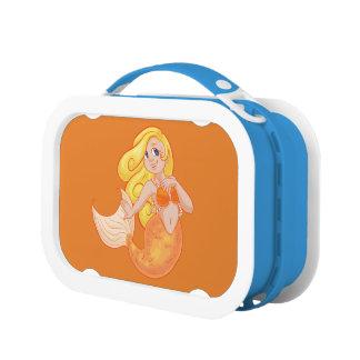 De Doos van de Lunch van de meermin voor Meisjes Lunchbox