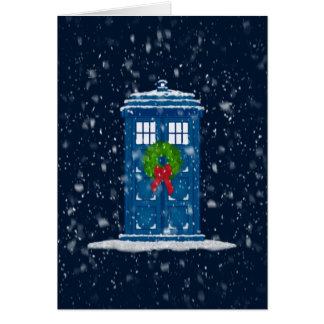 """De """"doos van de politie in de Sneeuw van Kerstmis"""" Kaart"""