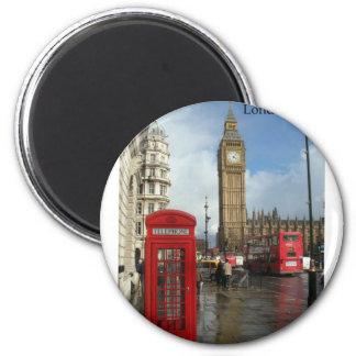 De doos van de Telefoon van Londen Big Ben (door S Koelkast Magneetjes