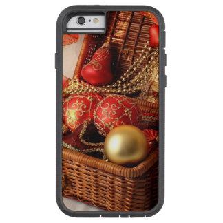 De doos van Kerstmis - de decoratie van Kerstmis Tough Xtreme iPhone 6 Hoesje