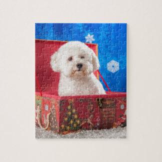 De doos van Kerstmis Puzzel