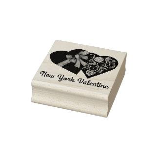 De Doos van New York Valentijn NYC van de Zegel Rubberenstempel