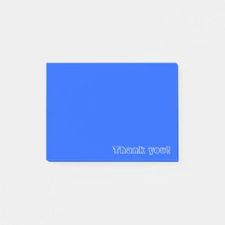 De douane dankt u het Blauw van | Post-it® Notes