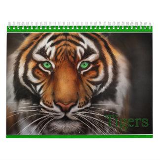 De douane Gedrukte Dierlijke Druk van de Katten Kalender