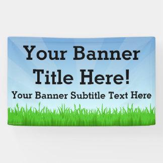De douane Gepersonaliseerde 3x5 Banner van de