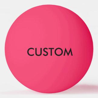 De douane Gepersonaliseerde Lege Sjabloon van de Pingpongbal