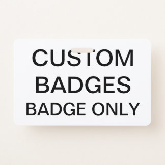 De douane Gepersonaliseerde Lege Sjabloon van het Badge