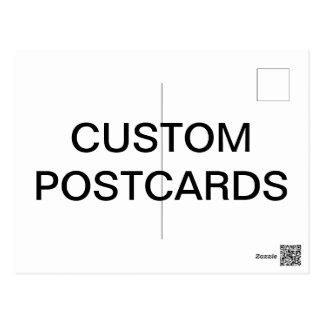 De douane Gepersonaliseerde Lege Sjabloon van het Briefkaart