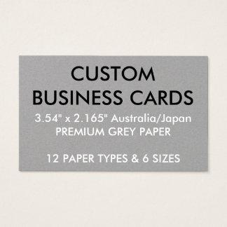 De douane Gepersonaliseerde Lege Sjabloon van Visitekaartjes