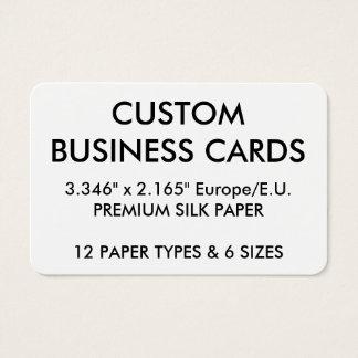 Gepersonaliseerde lege sjabloon visitekaartjes for Bureau des douanes 64