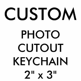 De douane Gepersonaliseerde Spatie van Keychain Fotobeeldje Sleutelhanger