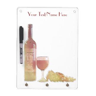 De douane nam Wijn toe Whiteboard