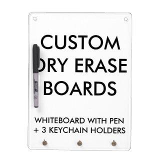 De douane personaliseerde Droog wist de Lege Whiteboard