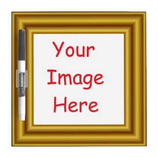 De douane personaliseerde Gedrukt Afbeelding & Whiteboard
