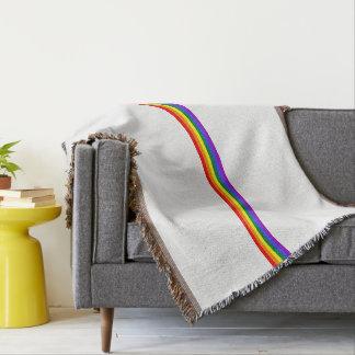De douane van de de vlagregenboog van de trots deken