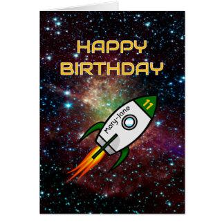 De douane van de verjaardag noemt om het even briefkaarten 0