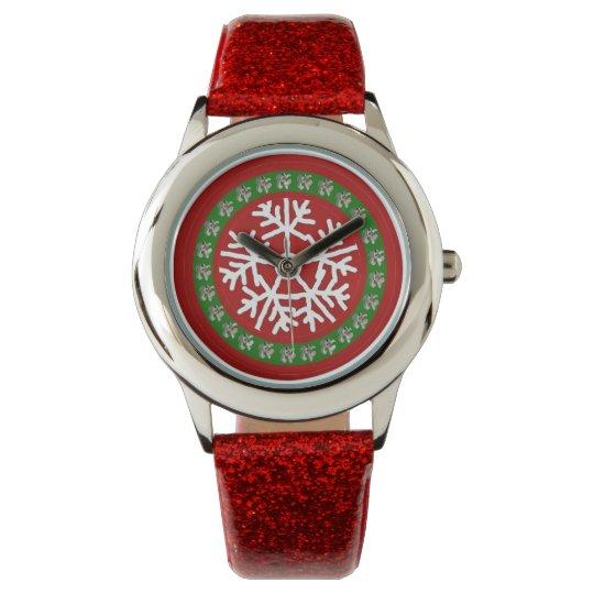 De Douane van het Horloge van Kerstmis van meisjes