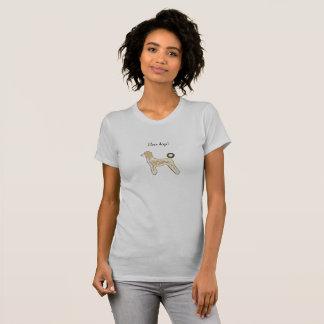 De douane van het overhemdshonden van het T-shirt