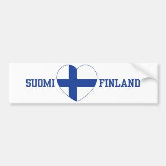 De douane van SUOMI FINLAND bumpersticker
