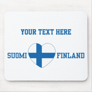 De douane van SUOMI FINLAND mousepad Muismatten