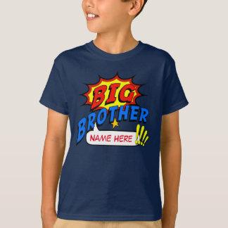 De Douane van Superhero van de grote Broer T Shirt