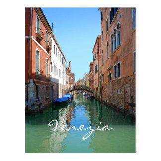 De douanebriefkaart van het Kanaal van Venetië Briefkaart