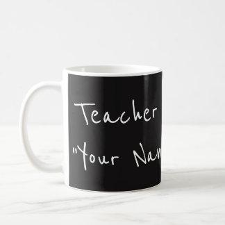 De douanemok van de leraar koffiemok