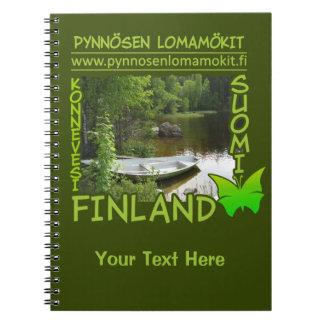 De douanenotitieboekje van Lomamökit van Pynnösen Ringband Notitieboek