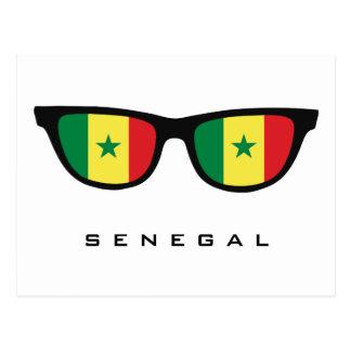 De douanetekst van de Schaduwen van Senegal & Briefkaart