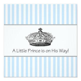 De Douche van de Jongen van het Baby van de prins Kaart