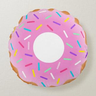 De doughnut bestrooit Hoofdkussen Rond Kussen