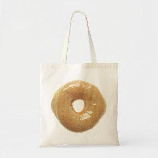 De doughnut hief Verglaasd op Draagtas