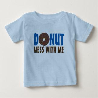 De doughnut knoeit met me de Doughnut Foodie van Baby T Shirts
