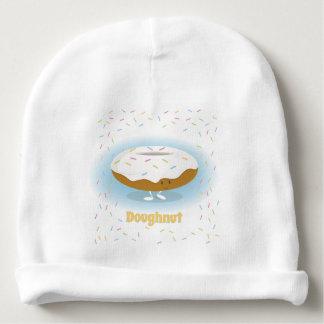 De doughnut met bestrooit het Pet van het Baby van Baby Mutsje