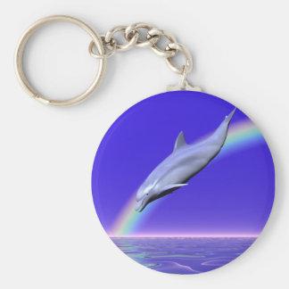 De Download van de dolfijn Sleutelhanger