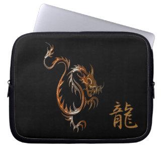 De Draak & Kanji van de tijger voor Laptop van de Laptop Computer Hoezen