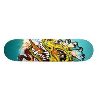 de draak skateboard deck