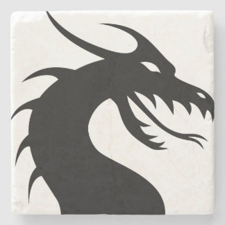 De draak stenen onderzetter