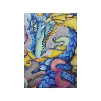 De Draak van Azul Gallerij Wrap Canvas
